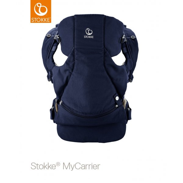 Stokke Mycarrier Front and Back Μάρσιπος Deep Blue