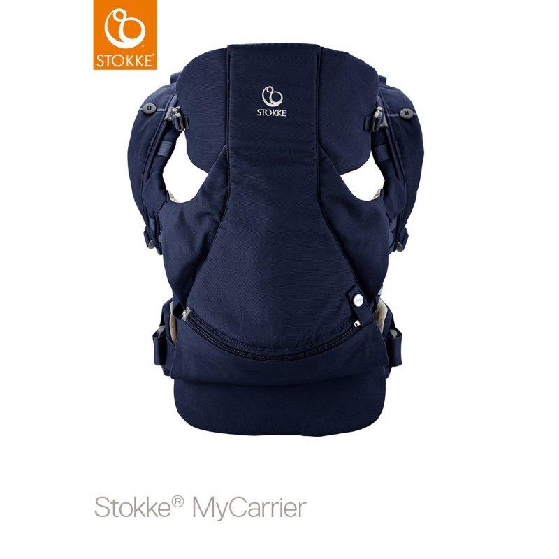 Stokke Mycarrier Front and Back Μάρσιπος Deep Blue