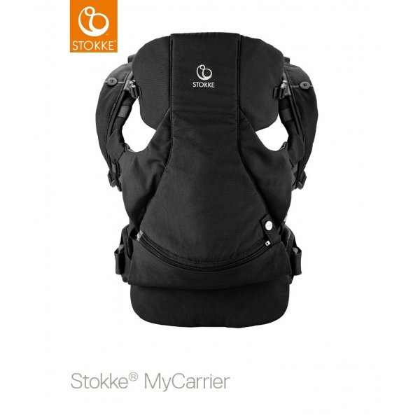 Stokke Mycarrier Front and Back Μάρσιπος Black