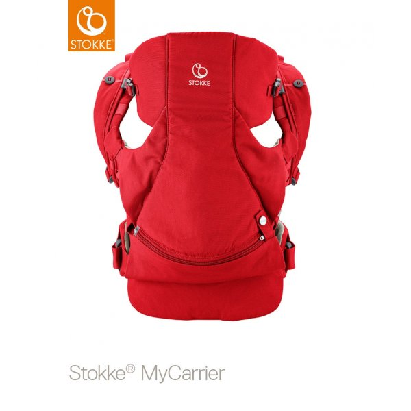 Stokke Mycarrier Front and Back Μάρσιπος Red