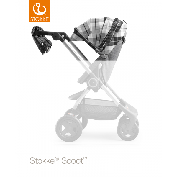 Stokke Scoot winterkit Flannel Grey