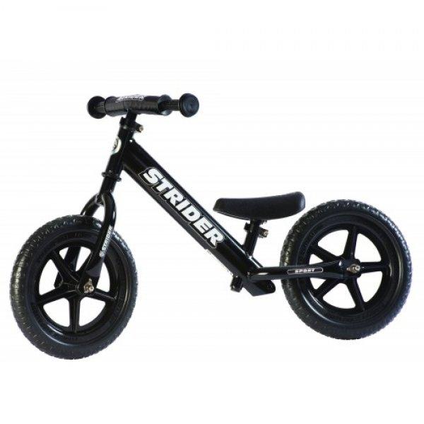 Strider Παιδικό Ποδήλατο Ισορροπίας Black ST-S4BK