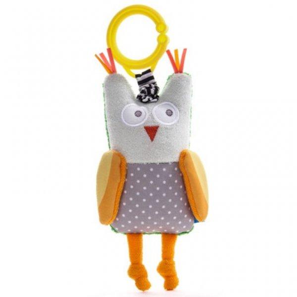 Taf toys κουδουνίστρα Obi the owl