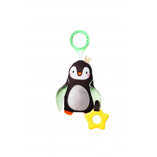 Taf toys κουδουνίστρα Prince the Penguin