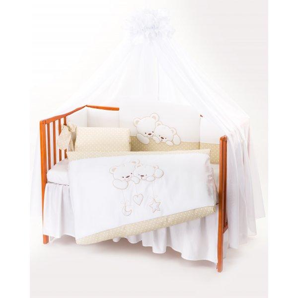 33ee1fefedc Tuttolina προίκα μωρού σετ 7 τεμαχίων cuddle bear beige 25